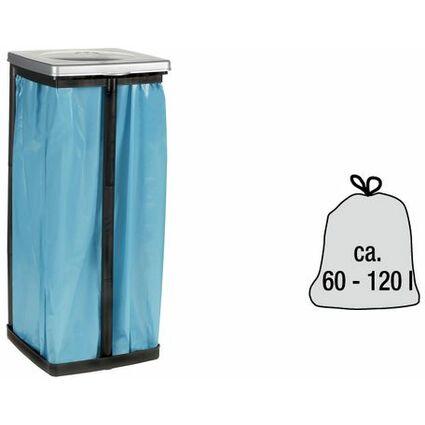 ok Müllsackständer, Material: PP, silber/anthrazit