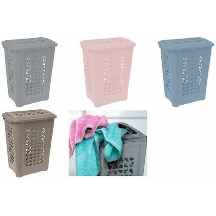 """keeeper Wäschebox """"per"""", mit Deckel, 60 Liter, farn-green"""