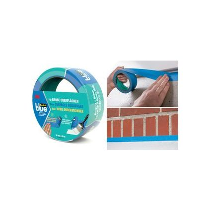 3M ScotchBlue Malerabdeckband, blau, 24 mm x 25 m