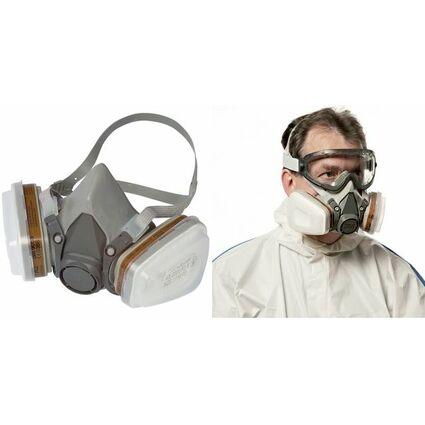 3M Atemschutz Halbmaske mit Wechselfilter 6002C