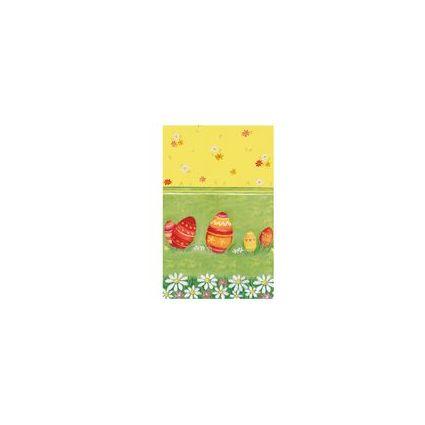 """SUSY CARD Oster-Mitteldecke """"Hühnerhof"""", 800 x 800 mm"""