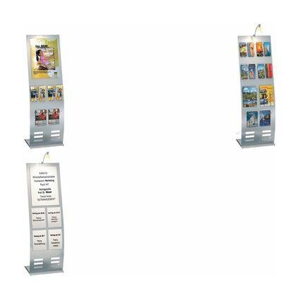 kerkmann Plakattasche, für Format DIN A3, transparent