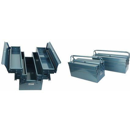 BRÜDER MANNESMANN Metall-Werkzeugkasten, Länge: 530 mm
