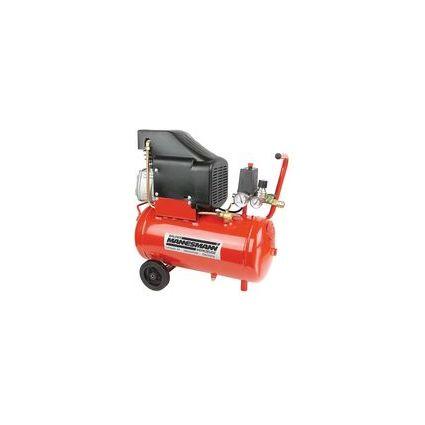 BRÜDER MANNESMANN Kompressor mit Öl, 24 l, 2 PS, 1,5 kW
