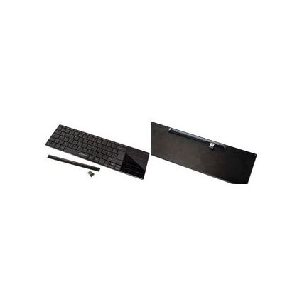 TYPHOON Tastatur ElegantTouch mit Touchpad, kabellos,schwarz