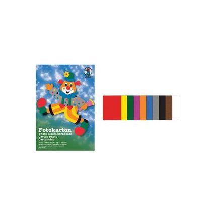 URSUS Fotokarton-Bastelmappe, 230 x 330 mm, 10 Blatt