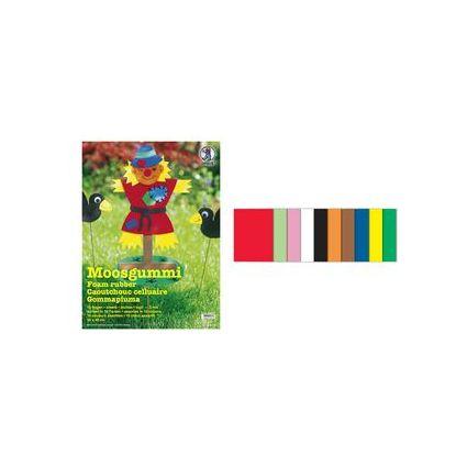 URSUS Moosgummi-Set, (B)300 x (H)400 mm, 10 Bogen
