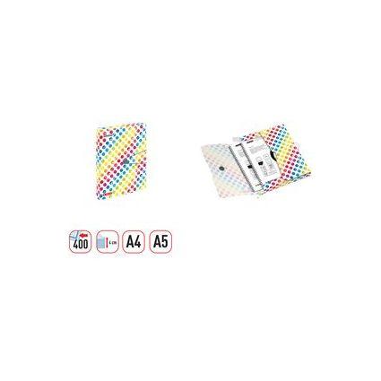 "herlitz Sammelbox easy orga to go SmileyWorld ""Rainbow"", A4"