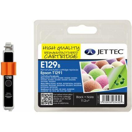 JET TEC wiederbefüllte Tinte E80C ersetzt EPSON T0802, cyan