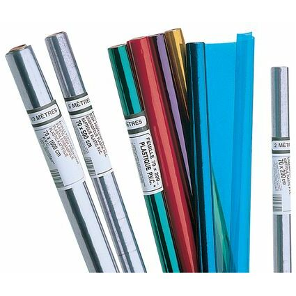 ELBA Buchschutzfolie, PVC, kristall farblos, 700 mm x 50 m