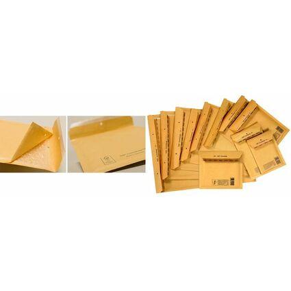 TAP Luftpolster-Versandtaschen COMEBAG, Typ D14, braun, 15 g