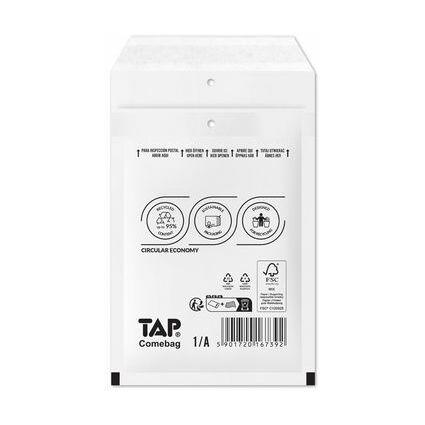TAP Luftpolster-Versandtaschen COMEBAG, Typ G, weiß, 24 g