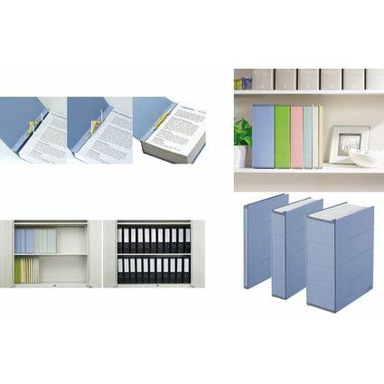 PLUS JAPAN Archivierungsordner ZEROMAX, A4 breit, grün