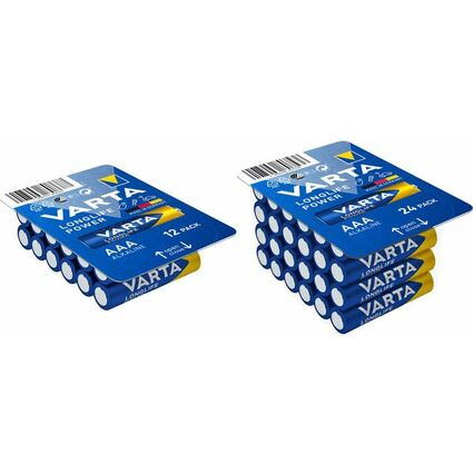 "VARTA Alkaline Batterie ""High Energy"" BIG BOX, Micro (AAA)"