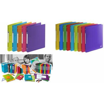 """ELBA Ringbuch """"ELBA School Life"""", DIN A4 XL, 4-Ring, PP"""