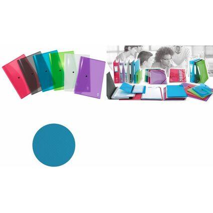 ELBA Dokumententasche HAWAI, DIN A4, PP, farbig sortiert