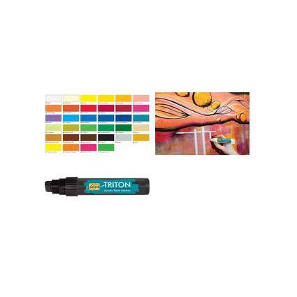 KREUL Acrylmarker SOLO Goya TRITON Acrylic 15.0, neon-gelb