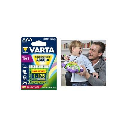"VARTA NiMH Akku ""Rechargeable Toy Accu"", Micro (AAA)"
