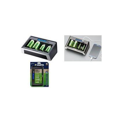VARTA Ladegerät LCD Universal Charger