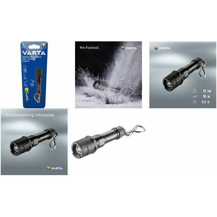 "VARTA Taschenlampe ""Indestructible Key Chain"", inkl. 1 x AAA"