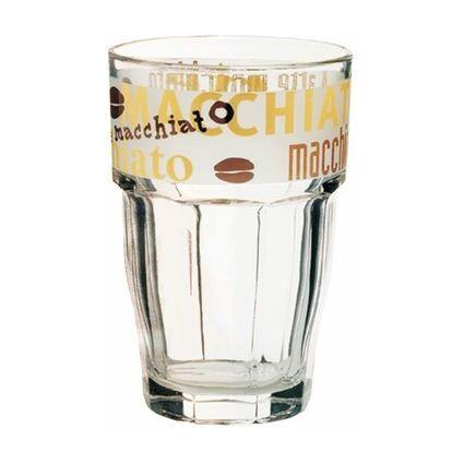 "Esmeyer Arcoroc Latte-Macchiato-Glas ""HOURS"", 0,37 l"