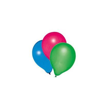 "SUSY CARD Luftballons ""Metallic"", farbig sortiert"