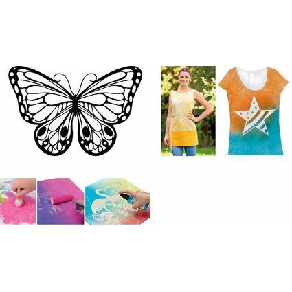"Marabu Silhouetten-Motivschablone ""Romantic Butterfly"""