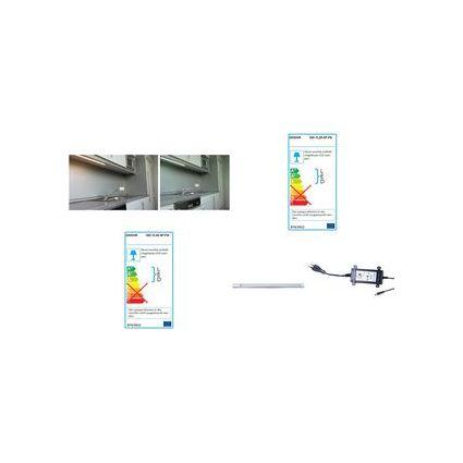 DIODOR LED-Lichtleiste, Starterpack, 250 mm, kaltweiß, 3,5 W