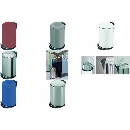 Hailo Tret-Abfalleimer Hailo TOPdesign 14, 14 Liter, rot
