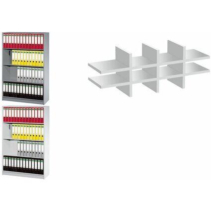 kerkmann Regal tec-art, 3 Böden, (B)1.000 mm, silber