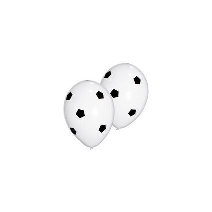 "SUSY CARD Luftballons ""Football"", schwarz/weiß"