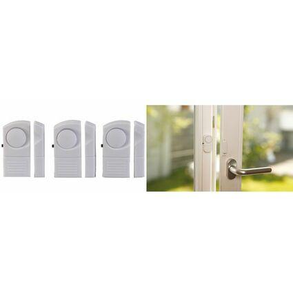 uniTEC Fenster- und Türalarmmelder, mit Magnetkontakt