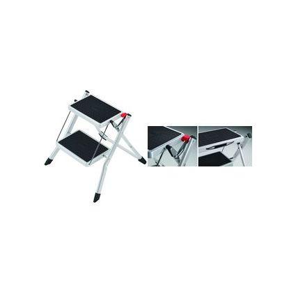Hailo Stahl-Klapptritt Mini, 2 Stufen