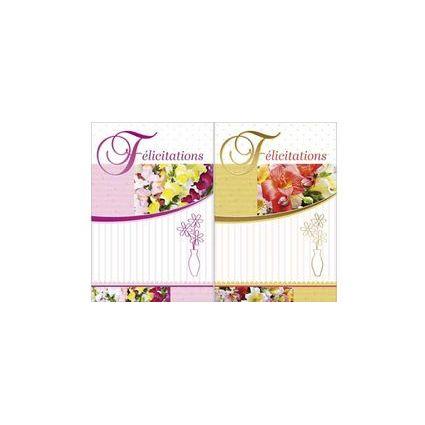 WEIGERT Cartes de voeux, Félicitations, Floral