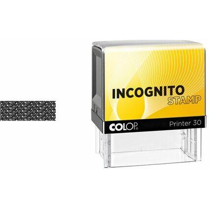 COLOP Datenschutzstempel Incognito Printer 30N LGT, gelb/