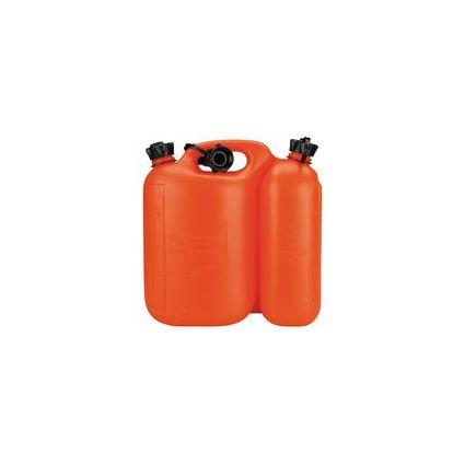 uniTEC Kraftstoff-Doppelkanister, für 2 Kraftstoffe