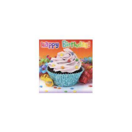 """SUSY CARD 3D Geburtstagskarte """"Cupcake"""""""