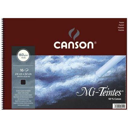 CANSON Künstlerpapier Mi-Teintes, im Album, 320 x 410 mm