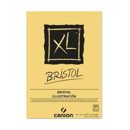 CANSON Skizzen- und Studienblock XL Bristol, DIN A4