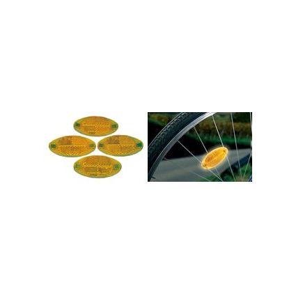 proFEX Fahrrad-Speichenreflektoren-Set, Inhalt: 4 Stück