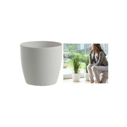 emsa Blumenkübel CASA MATT, Durchmesser: 350 mm, weiß