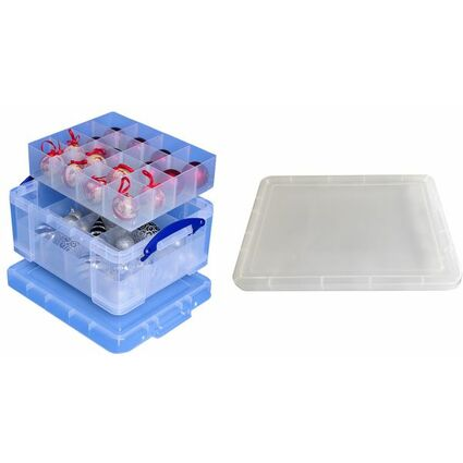 Really Useful Box Aufbewahrungsbox mit Einsätzen, 21 Liter