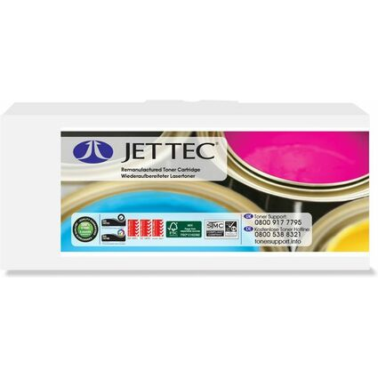 JET TEC Toner B135M ersetzt brother TN-135M, magenta, HC