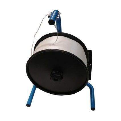 dm-folien Umreifungsband-Abroller CA332, schwarz/blau