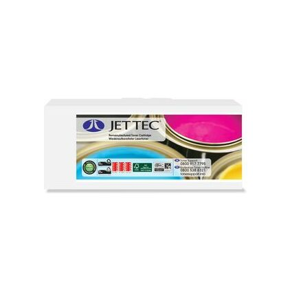 JET TEC Toner O5600B ersetzt OKI 43324408, schwarz