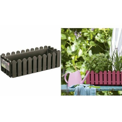 emsa blumenkasten landhaus b 500 mm quarzgrau 517502 bei g nstig kaufen. Black Bedroom Furniture Sets. Home Design Ideas
