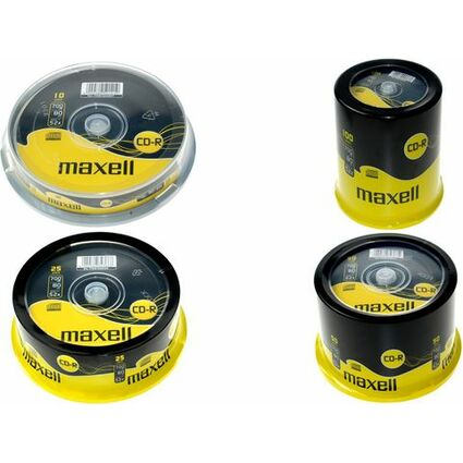 maxell CD-R 80 Minuten, 700 MB, 52x, 50er Spindel