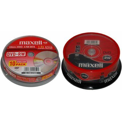 maxell DVD-RW 120 Minuten, 4,7 GB, 2x, 25er Spindel
