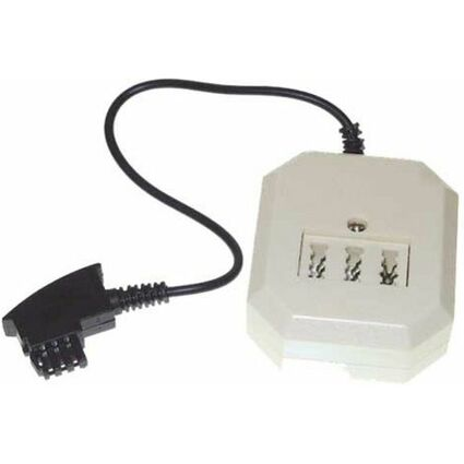 shiverpeaks BASIC-S Telefon-Adapter, TAE-F-Stecker -