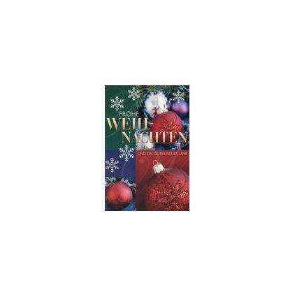 HORN Weihnachtskarte - Christbaumkugeln - inkl. Umschlag